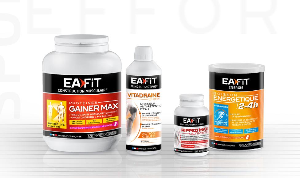 Refonte complète de la gamme et de son identité ou comment valoriser l'offre Eafit pour toucher une cible plus large.