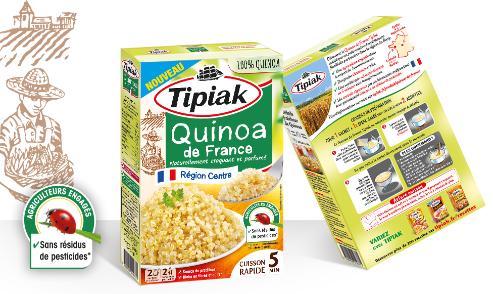 Accompagner Tipiak dans son programme d'innovations ou comment créer une identité packaging au service de la personnalité produit.